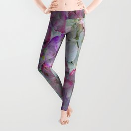 Mesmerizing Floral Abstract Leggings