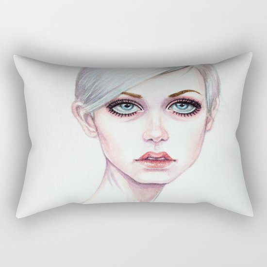Twiggy Rectangular Pillow
