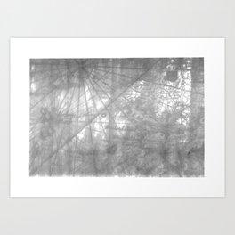 Wanderer's Map Art Print