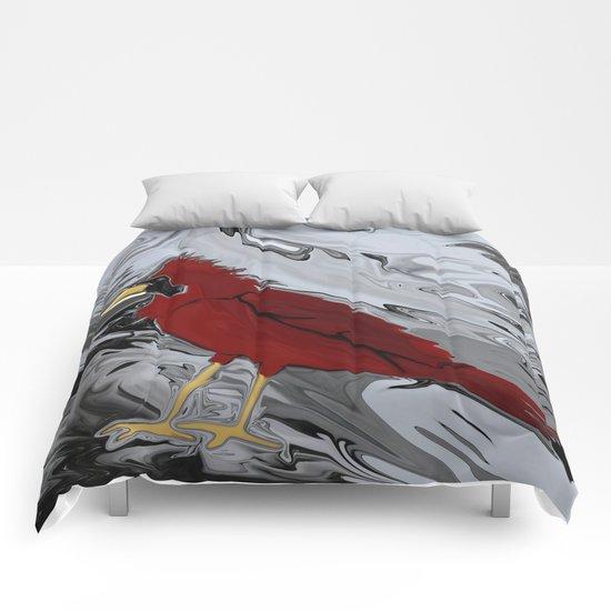 Crystal Cardinal Comforters