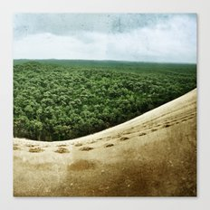 Beyond the Sand Dune Canvas Print