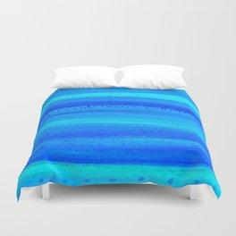 Blue Sky Blue Waters Duvet Cover