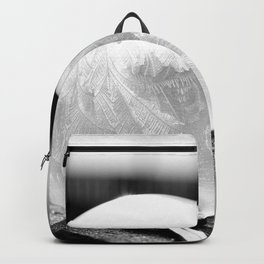 Black and White Frozen Bubble Backpack