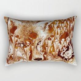 Dinner? Rectangular Pillow