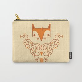 Ornate Fox Carry-All Pouch
