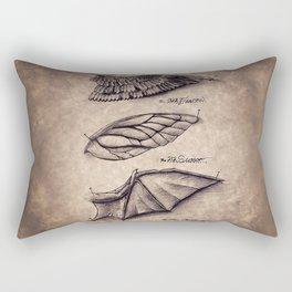 Fearow Charizard Scyther Rectangular Pillow