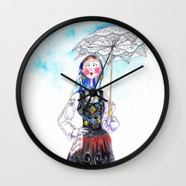 MARIA FROM DOURO-PORTUGAL Wall Clock