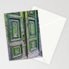 Green Door 3 Stationery Cards