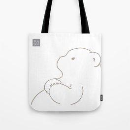 Line poetry #01 Tote Bag