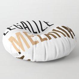 LEGALIZE MELANIN Floor Pillow