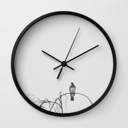 Kereru Chillin Wall Clock