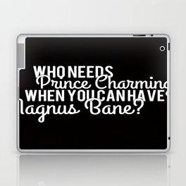 Prince Charming - Magnus Bane Laptop & iPad Skin