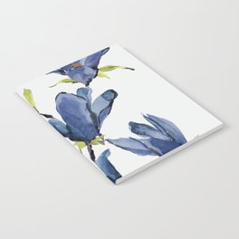 Blue Flowers 3 Notebook