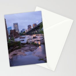 Moody Richmond Cityscape From The James River Stationery Cards