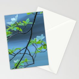 Dogwood Blossoms II Stationery Cards