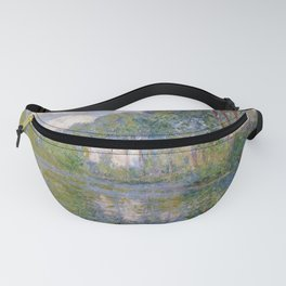 Claude Monet -- Poplars at the Epte Fanny Pack