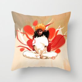 mak Throw Pillow