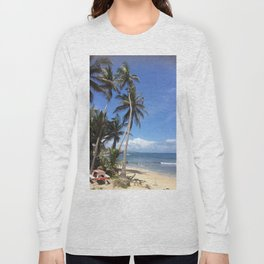 Caribbean Coastline Long Sleeve T-shirt