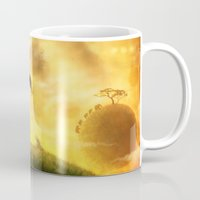 africa Mugs featuring AFRICA by J ō v