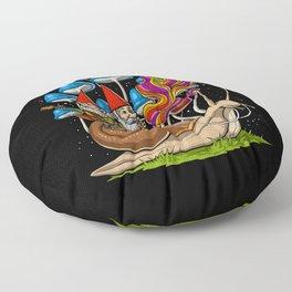 Mushroom Gnomes Floor Pillow