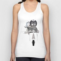 vespa Tank Tops featuring VESPA by tonadisseny