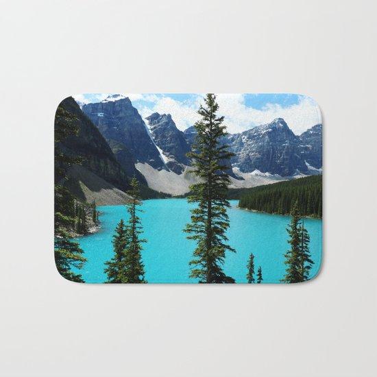 Moraine Lake, Canada Bath Mat