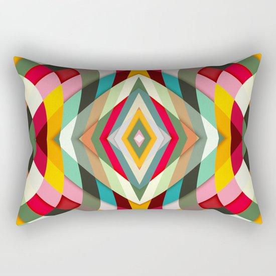 Colorful Smile Rectangular Pillow