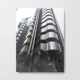 Blade Runner Tower Metal Print