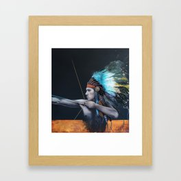 They're All Watching You, Brave Dreamer Framed Art Print