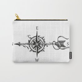 Compass with Arrow (Tattoo stule) Carry-All Pouch