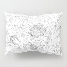 King and Queen Proteas Pillow Sham