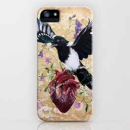 My wild heart iPhone Case