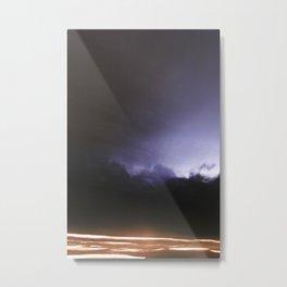 Midnight Drive Metal Print