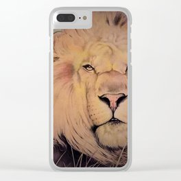 Lord of the Fen Clear iPhone Case