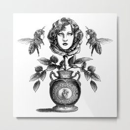 Envy is in the Eye of the Beeholder Metal Print
