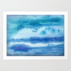 Nothing but Blue Skies Art Print