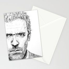 Hugh Laurie, House MD Stationery Cards