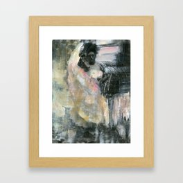 Painted Pink Framed Art Print