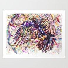 Eagle // Abuelo/A Art Print
