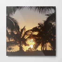 Bahamas Sunrise Metal Print