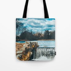 Waterfall afternoon Tote Bag