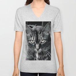 Cats Eyes Unisex V-Neck