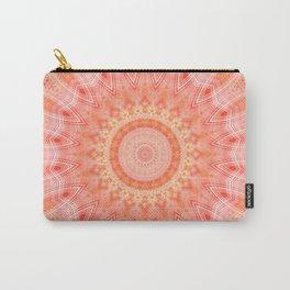 Mandala soft orange 2 Carry-All Pouch