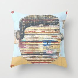 The Fragile Man Throw Pillow