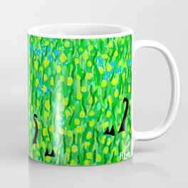 Two Black Cats Coffee Mug
