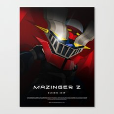 mazinger fan art Canvas Print