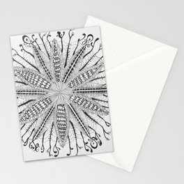 Social Anxiety Mandala Stationery Cards