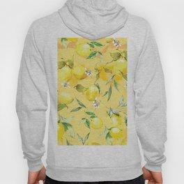 Watercolor lemons 5 Hoody