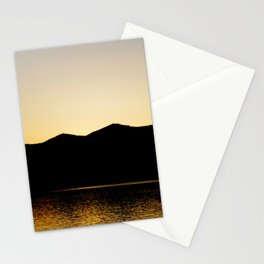 Gold Reflex Stationery Cards