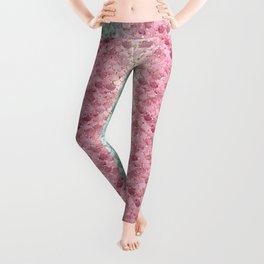 Pretty Mermaid Scales 19h vibrant Leggings